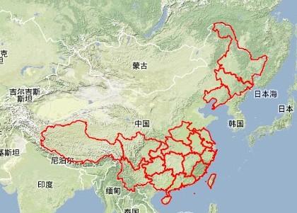 我国蛇足石杉地理分布