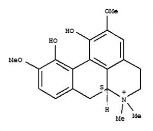 木兰花碱结构式