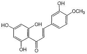 橙皮素(Hesperitin)结构式