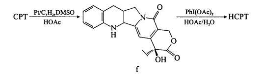 喜树碱衍生物半化学合成的关键技术