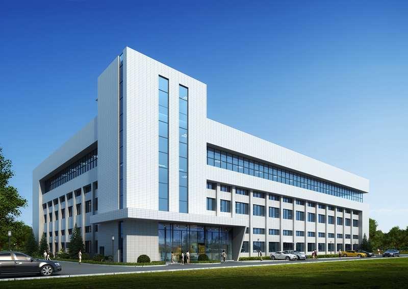 湖南绿蔓生物长沙工厂透视图(在建)